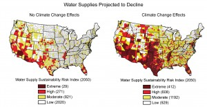 US Climate Resilience Toolkit - Water Risk Index