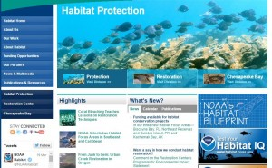 Visit the website http://www.habitat.noaa.gov/index.html