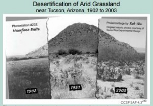 Global Change - Desertification