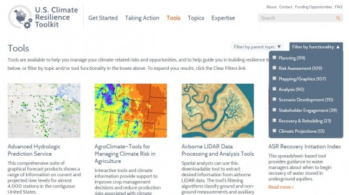 Climate Resilience Toolkit Capture